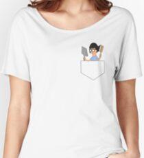 Dust & Brush (Pocket) Women's Relaxed Fit T-Shirt