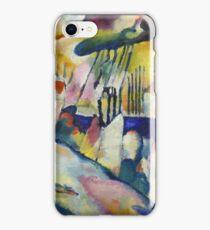 Kandinsky - Landscape With Rain iPhone Case/Skin