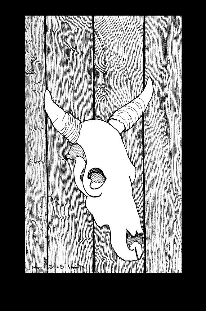 Cow Skull by James Lewis Hamilton
