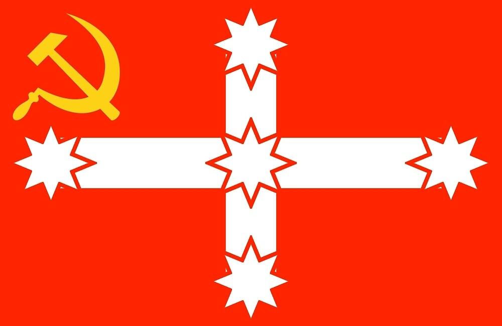 Quot The True Eureka Flag Quot By Communism Aus Redbubble