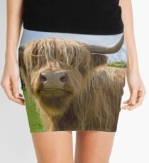 Highland cow Mini Skirt