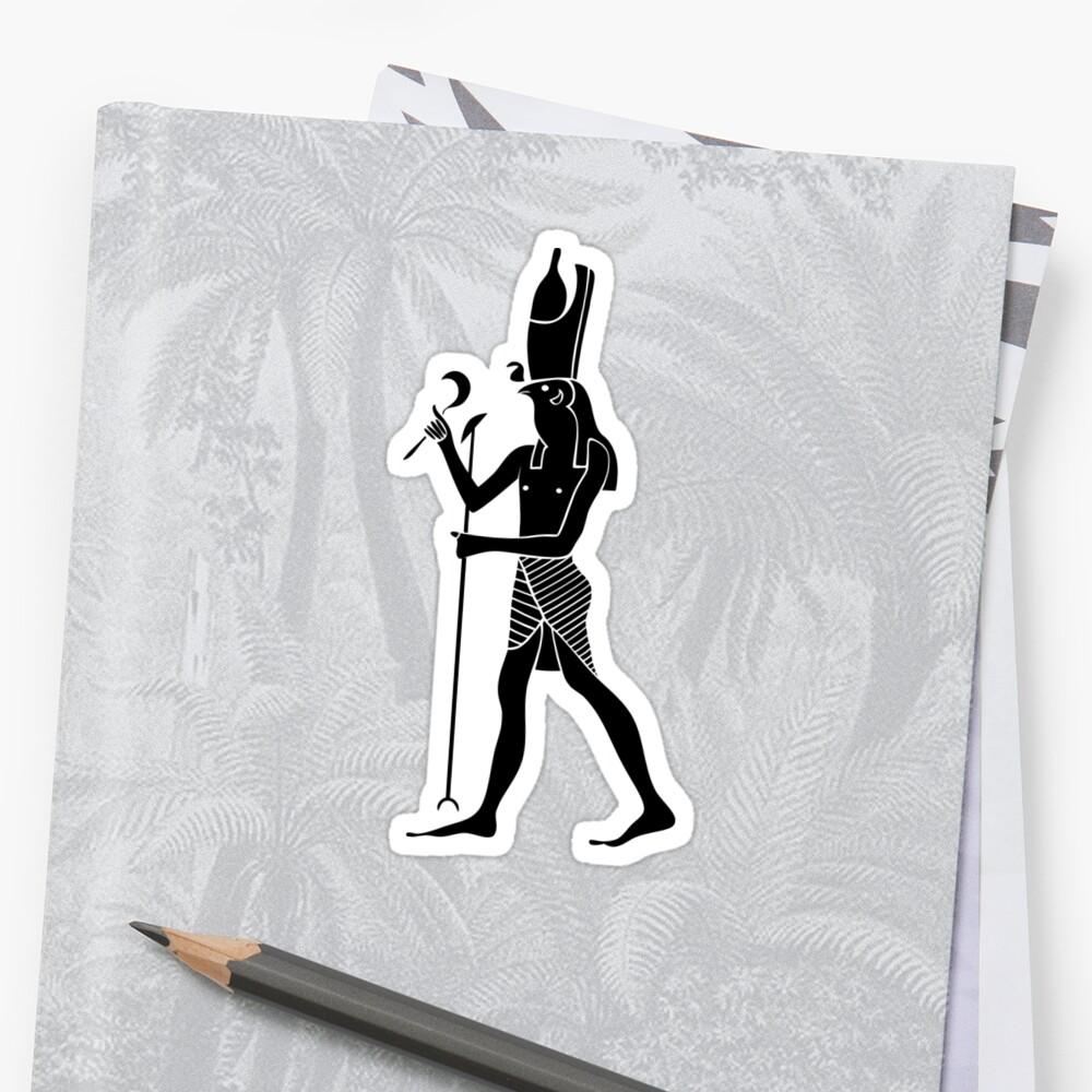 Egyptian God Horus by Smaragdas