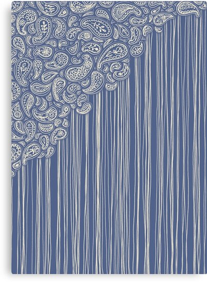 The Unraveling of Paisley Lace by micklyn