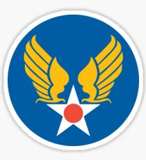 US Army Air Corps Hap Arnold Wings Sticker