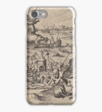 Hieronymus Bosch - The Temptation Of Saint Anthony 1561 iPhone Case/Skin
