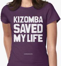 Kizomba Saved my Life Women's Fitted T-Shirt