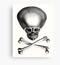 Pirate Geek - White Rims Metal Print