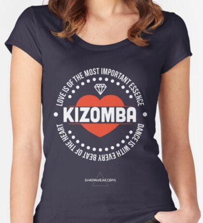 Love Kizomba Women's Fitted Scoop T-Shirt