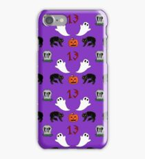 Spooky purple iPhone Case/Skin