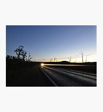 Road Side Photographic Print