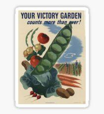 Victory Garden Sticker