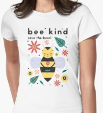 Save The Bees! Women's Fitted T-Shirt