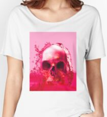 Red Skull in Water Women's Relaxed Fit T-Shirt