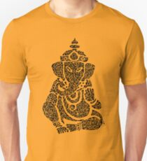 Ink Rain Ganesha Unisex T-Shirt