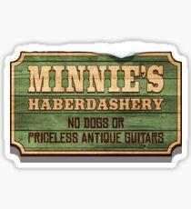 Minnie's Haberdashery Sticker