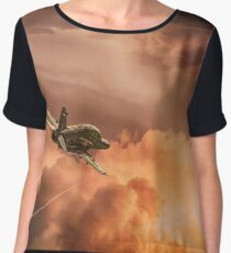 Into the sunset Women's Chiffon Top