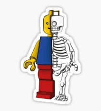 """Lego anatomy"" Sticker"