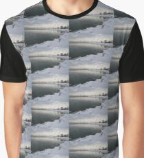 Cold, Gray and Transparent Graphic T-Shirt
