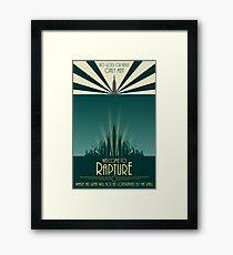 Bioshock Art #1 Framed Print