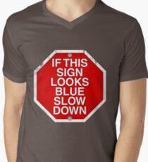 A physics joke. Men's V-Neck T-Shirt
