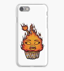 Fiery Cupcake iPhone Case/Skin