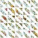 flower patterns by watercolorkiddo
