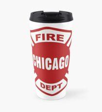 Chicago Fire Travel Mug