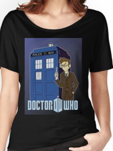 Doctor Who Animated Women's Relaxed Fit T-Shirt