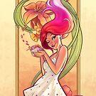Flower Girl by Felipe Kimio