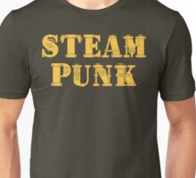 Steampunk Typography Unisex T-Shirt