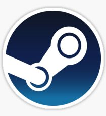 Steam Logo Sticker