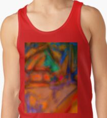 Colorful Abstract Art Laptop Skin Tank Top