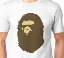 bape brown Unisex T-Shirt