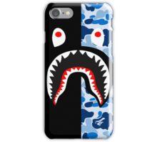 shark black blue iPhone Case/Skin