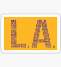L.A Sticker