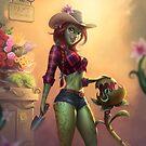 Pam's Flowers by Felipe Kimio