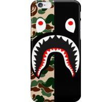shark army black iPhone Case/Skin