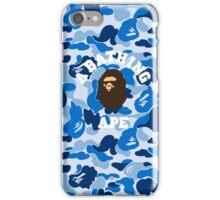 abape blue iPhone Case/Skin