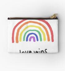 LGBTQA+  PRIDE [Love Wins] Studio Pouch
