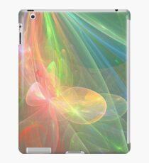 Floral Rainbow - Space iPad Case/Skin
