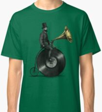 Music Man (green colour option) Classic T-Shirt