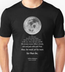 Moon Bridge Shakespeare Unisex T-Shirt