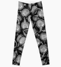 Kettlebells B&W Leggings