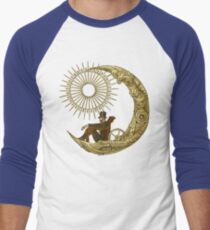 Moon Travel Men's Baseball ¾ T-Shirt