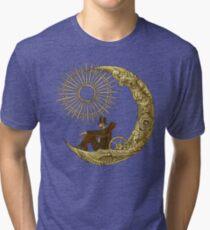 Moon Travel Tri-blend T-Shirt