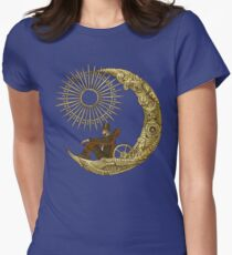 Moon Travel Women's Fitted T-Shirt