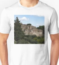 A Peaceful Italian Afternoon - Ancient Pompeii Ruins From a Verdant Park T-Shirt