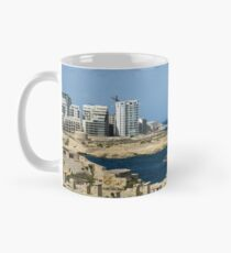 Postcard from Malta - the Old and the New Mug