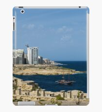 Postcard from Malta - the Old and the New iPad Case/Skin
