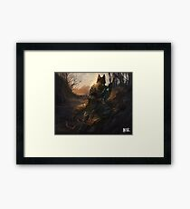 Shadow of the Day Framed Print